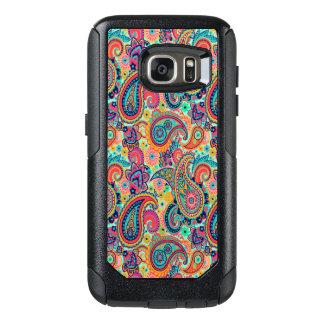 Arc-en-ciel lumineux Paisley Coque OtterBox Samsung Galaxy S7