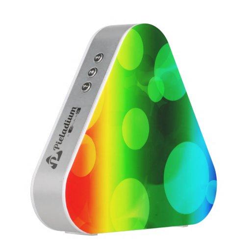 Arc-en-ciel Ombre Bokeh Haut-parleur Bluetooth