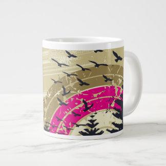 Arc-en-ciel rose mug
