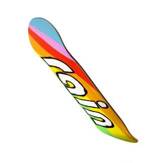 Arc-en-ciel Skateboard 20,6 Cm
