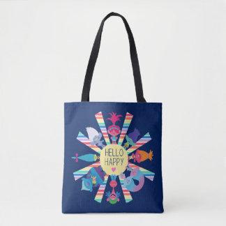 Arc-en-ciel Sun de paquet de casse-croûte des Tote Bag