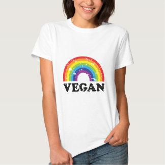 Arc-en-ciel végétalien t-shirt