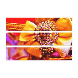 Arc et cristaux d'or toiles
