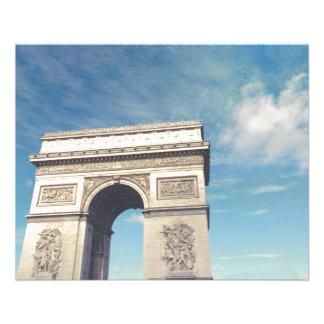 Arch de Triumph Prospectus 11,4 Cm X 14,2 Cm