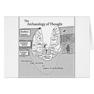 Archéologie de pensée cartes