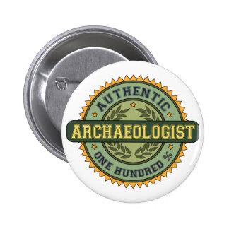 Archéologue authentique pin's
