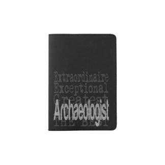 Archéologue Extraordinaire Protège-passeports