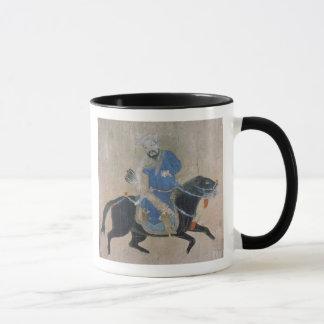 Archer mongol à cheval tasse