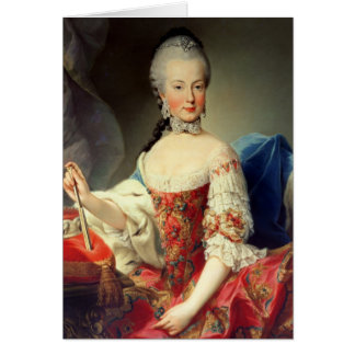 Archiduchesse Maria Amalia le Habsbourg-Lothringen Carte De Vœux