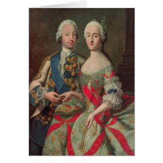 Archiduchesse Maria Caroline de l'Autriche Carte De Vœux