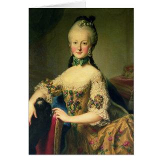 Archiduchesse Maria Elisabeth Carte De Vœux