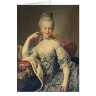 Archiduchesse Marie Antoinette Carte De Vœux
