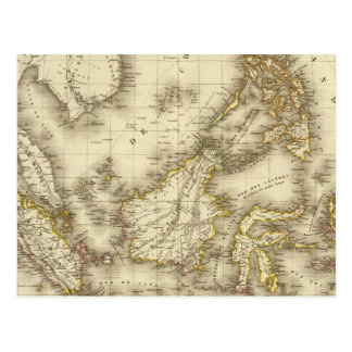 Archipel asiatique grand carte postale