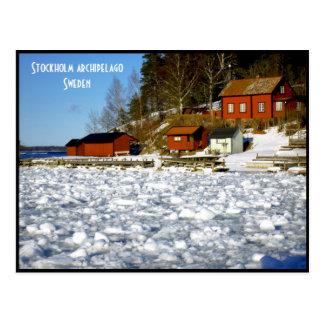 Archipel de Stockholm - Suède Carte Postale