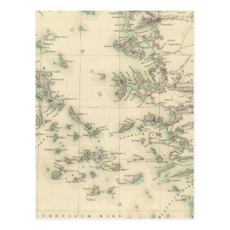 Archipel Grec, antique Carte Postale