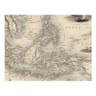 Archipel malais, ou îles est de l'Inde Carte Postale