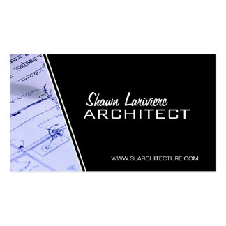 Architecte - cartes de visite carte de visite standard