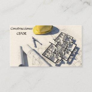 Cartes De Visite Architecte