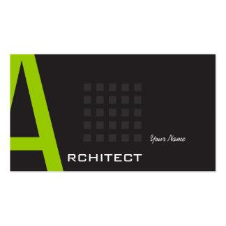 Architecte Modèle De Carte De Visite