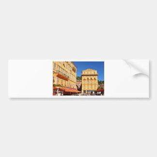 Architecture à Nice, France Autocollant De Voiture
