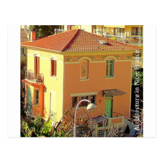 Architecture à Nice, France Carte Postale