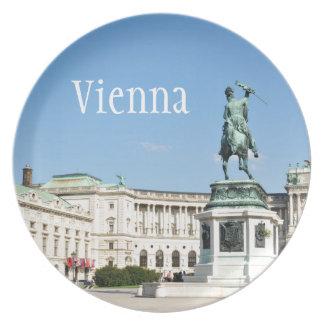 Architecture à Vienne, Autriche Assiettes En Mélamine