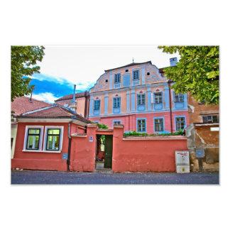 Architecture de Sibiu Impression Photo