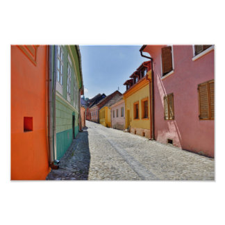 Architecture de Sighisoara Tirages Photo