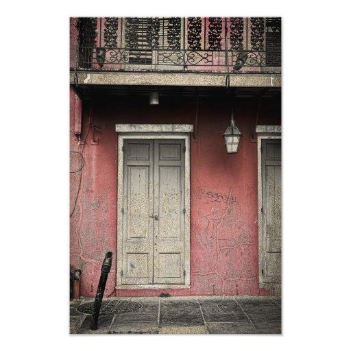 Architecture de Vieux Carre Photo D'art