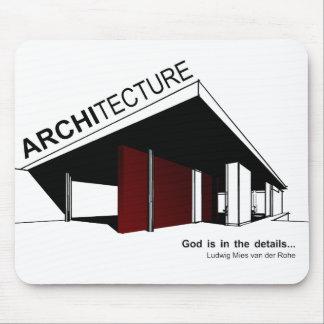Architecture : Mies van der Rohe Tapis De Souris