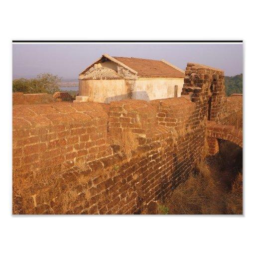 Architecture portugaise en Inde Impressions Photo