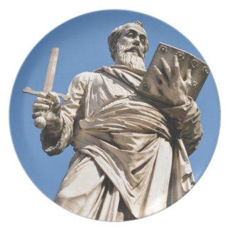 Architecture religieuse à Vatican, Rome, Italie Assiettes En Mélamine