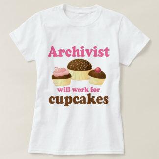 Archiviste drôle t-shirt