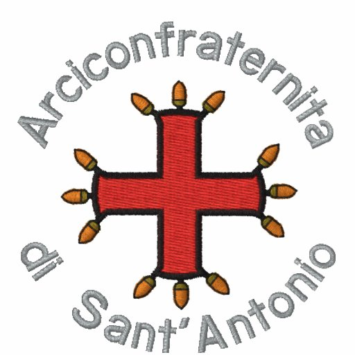 Arciconfraternita di Sant'Antonio de Bianca de pol Polo Avec Broderie
