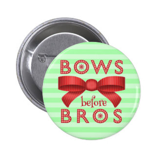 Arcs drôles de Noël avant Bros mignon Badge