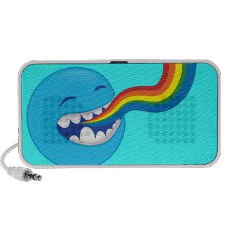 Arcs-en-ciel de chant haut-parleur iPod