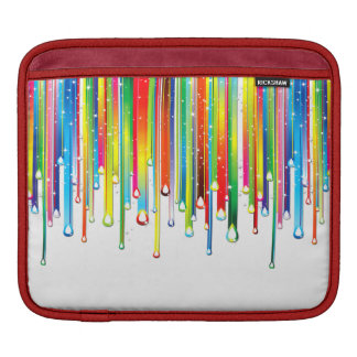 Arcs-en-ciel liquides de scintillement poches iPad