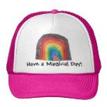 Arcs-en-ciel magiques casquettes
