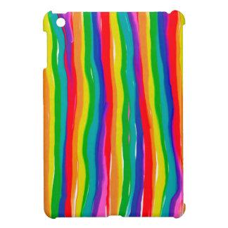 Arcs-en-ciel peints coque pour iPad mini
