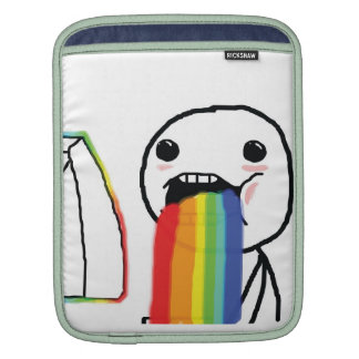 Arcs-en-ciel vomissants poches pour iPad