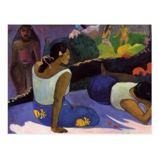 """""""Arearea aucune carte postale de Varua Ino"""" - Paul"""