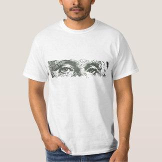 Argent d'argent liquide de billet d'un dollar de t-shirts