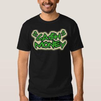 Argent d'argent liquide -- T-shirt