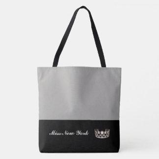 Argent de Fourre-tout de couronne argentée de la Tote Bag