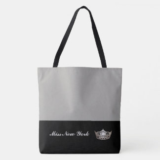 Argent de Fourre-tout de couronne argentée de Mlle Tote Bag