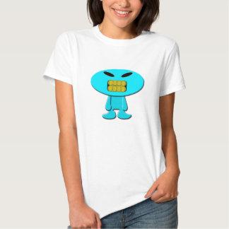 argent de MIC (bleu de ciel) T-shirts
