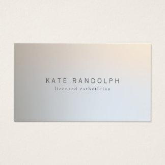 Argent lumineux professionnel moderne de cartes de visite