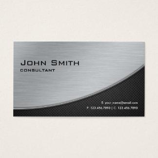 Argent moderne élégant professionnel de réparation cartes de visite