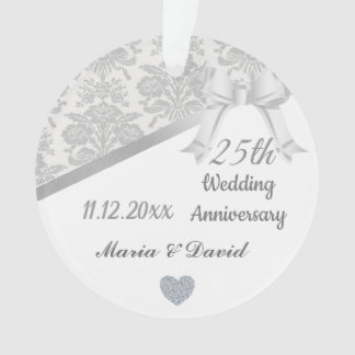 Argentez le 25ème anniversaire de mariage