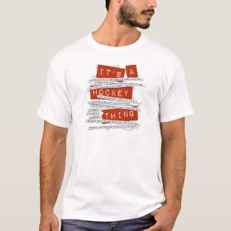 Argot d'hockey t-shirt